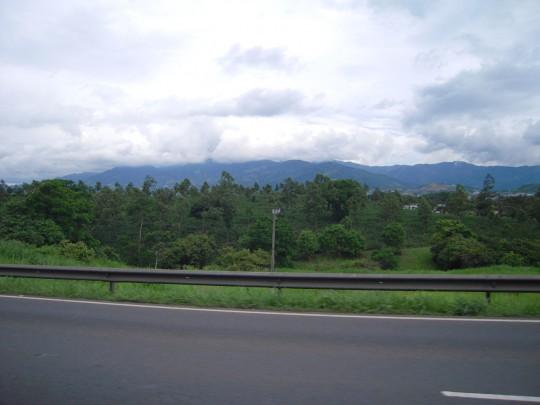 Arriving in Costa Rica