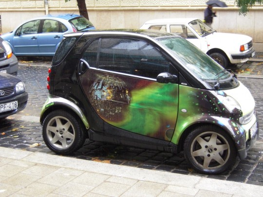 Unusual paint job - Budapest, Hungary