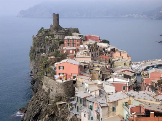 Birds have the best views - Cinque Terre, Italy