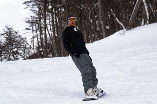 Jeff snowboarding at Cerro Castor - Ushuaia, Argentina