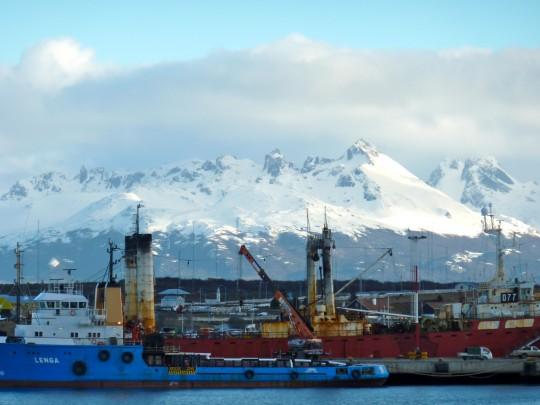 Port of Ushuaia, Argentina
